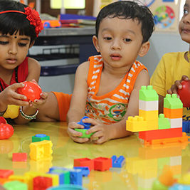 Kids playing with blocks copy